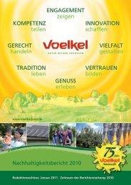ENGAGEMENT zeigen TRADITION leben ... - Voelkel GmbH