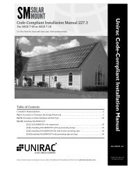 SolarMount Code Compliant Installation Manual (PDF, 1.53 ... - Unirac