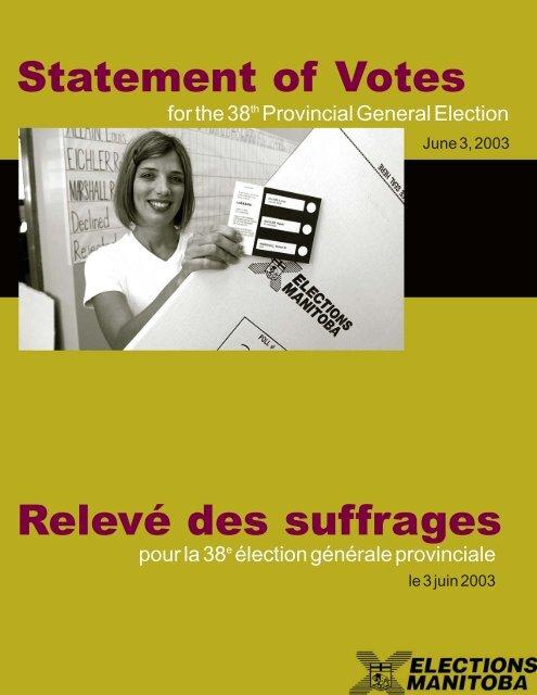 Electoral Divisions M-S - Elections Manitoba