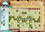 [Battlelore Pro Challenge] - Stage Two
