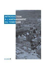 Table des matières «Introduction à l'aménagement du territoire
