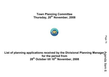Agenda Item 6 - Belfast City Council. Meetings, agendas and minutes