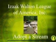 Izaak Walton League of America, Inc.