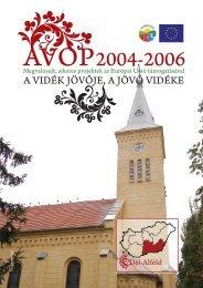 AVOP Dél-Alföld - Magyar Nemzeti Vidéki Hálózat