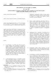 REGULAMENTUL (CE) NR. 616/2007 AL COMISIEI din 4 ... - apia