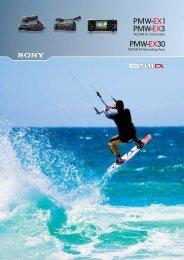 Sony PMW-EX1/3/30 Brochure - Hollywood Studio Rentals