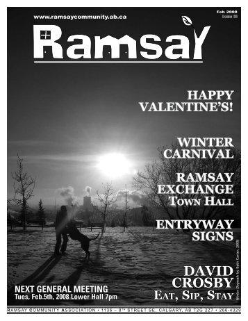 February 2008 - Ramsay Community Association in Calgary