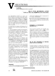VARIATIONS - Banque de données en santé publique