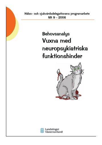 Programarbete Vuxna med Neuropsykiatriska funktionshinder