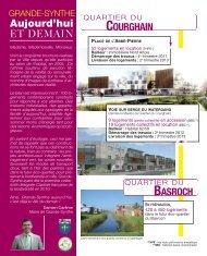 Projets urbains pour les années 2012/2013 - Ville de Grande-Synthe