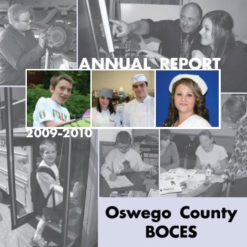 Annual Report.indd - Oswego County BOCES