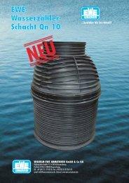 EWE- Wasserzähler- Schacht Qn 10