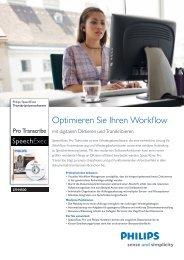 pdf Datenblatt SpeechExec Pro Transcribe LFH 4500 - voelker-edv.de