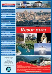 Resor 2011 - Lingmerths Buss