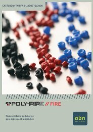 POLY-PIPE® FIRE - tubtec