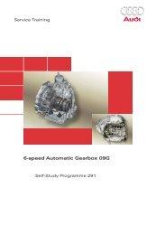 SSP291 6-speed Automatic Gearbox 09G - Volkspage