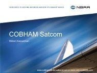 COBHAM Satcom - NBAA
