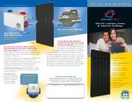 SOLAR AIR HEATING Www.yoursolarhome - HVACQuick