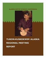 YKReport 6-16-05.pub - Alaska Native Science Commission