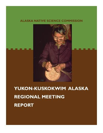 YKReport 6-16-05.pub - Alaska Native Science Commission