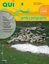 qui montecampione n° 2 luglio - agosto - settembre 2011 [5,1 M]