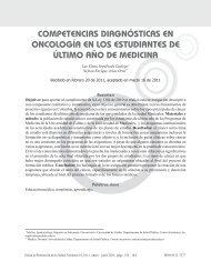 competencias diagnósticas en oncología en los estudiantes de ...