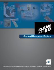 Chemical Management System - Spartan Chemical Company
