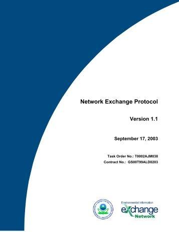 Network Exchange 1.0 Protocol - The Exchange Network