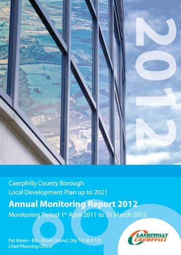 Annual Monitoring Report 2012