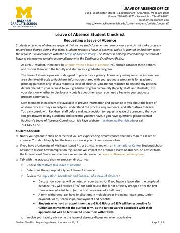 umich rackham graduate school application