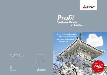 Profil - MITSUBISHI ELECTRIC Erodiersysteme