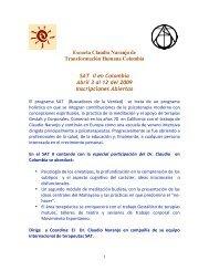 SAT II en Colombia Propaganda 2 - Claudio Naranjo
