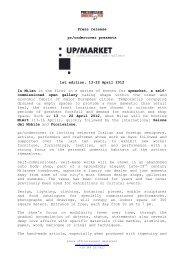 Press release pr/undercover presents 1st edition, 13-22 April 2012 ...