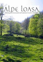 Mitteilungsblatt Genossenschaft und Freundeskreis Loasa Nr. 1/2012