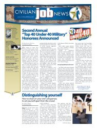 Print edition (PDF) - CivilianJobs.com