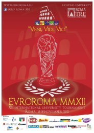 AREA and EURO ROMA 2012