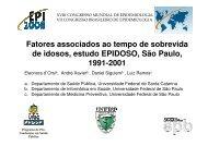 Fatores associados ao tempo de sobrevida de idosos ... - Epi2008