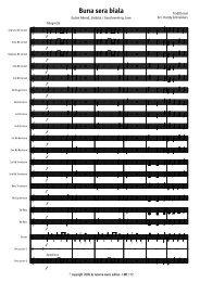 Finale 2007 - [Buna sera biala - Score.MUS] - Lucerne Music Edition