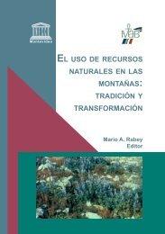 El uso de recursos naturales en las montañas: Tradición y ... - CDAM