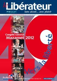 Dossier : Congrès de Mazamet - La Croix Bleue