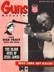 GUNS Magazine August 1955