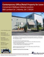 800 Lambert Dr Flyer - Bull Realty