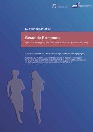 FuE-Projekt Gesunde Kommune_Abschlussbericht 2012 ... - KLUEDO