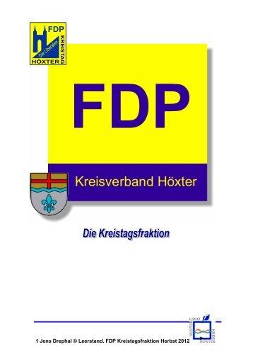 1 Jens Drephal © Leerstand. FDP Kreistagsfraktion Herbst 2012