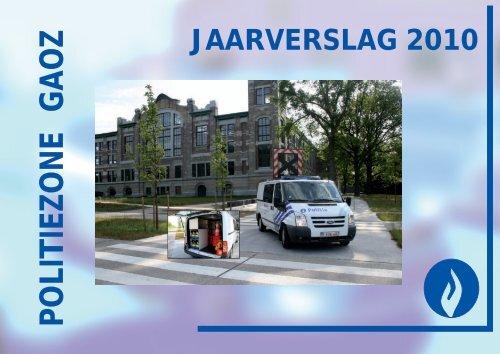 Jaarverslag 2010 - Lokale Politie