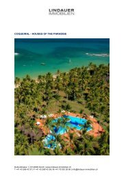 COQUEIRAL - HOUSES OF THE PARADISE - Lindauer-Immobilien