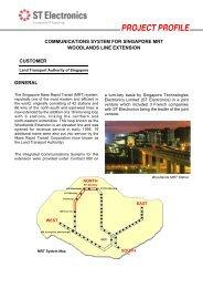 Communications System for Singapore MRT ... - ST Electronics