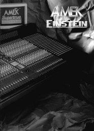 Amek Einstein Super E - Analog Console Forum