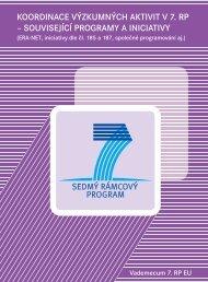 koordinace výzkumných aktivit v 7. rp – související programy a ...