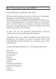 aktualisierte Broschüre über das Ganztagsangebot im Schuljahr ...